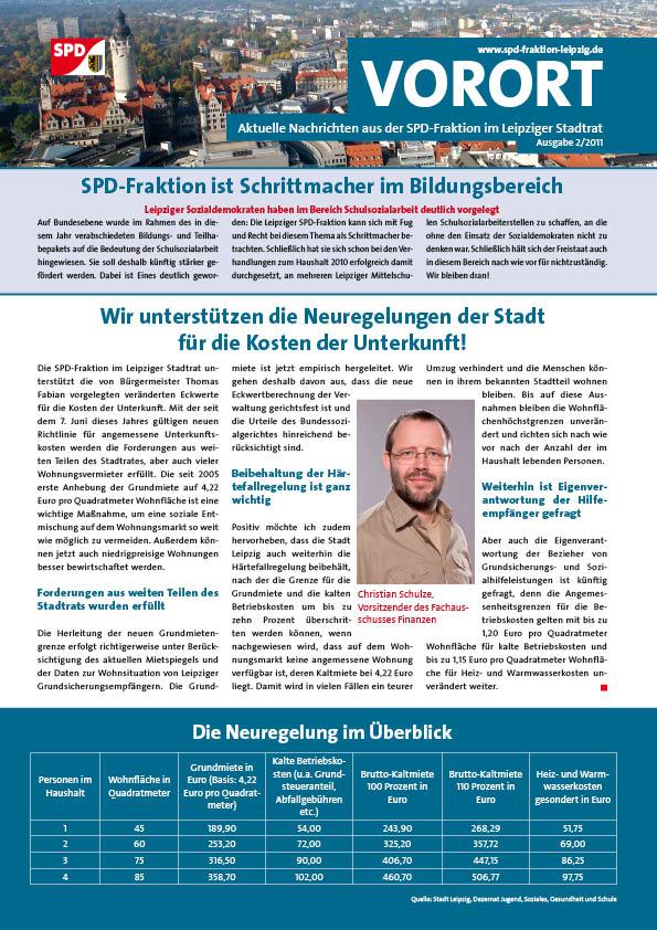 VOR ORT, Ausgabe 2/2011