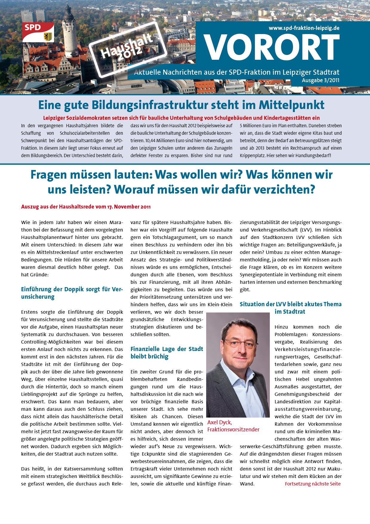 VOR ORT, Ausgabe 3/2011